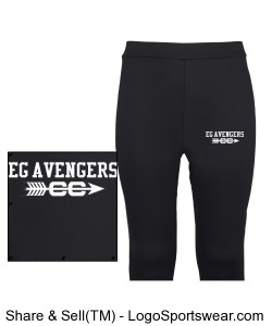 Adult Unisex Radiator Baselayer Legging Design Zoom